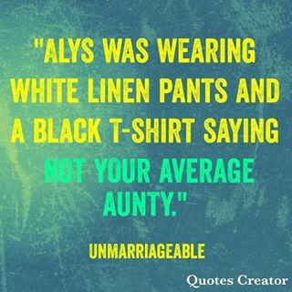 unmarriageable quote