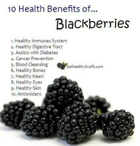 blackberries 10 health benefits