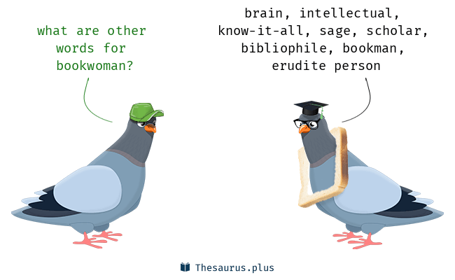 bookwoman synonyms two pigeons