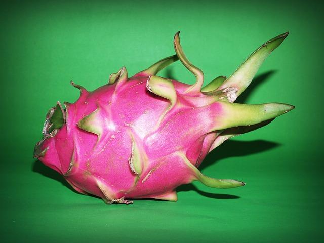 dragon fruit close up