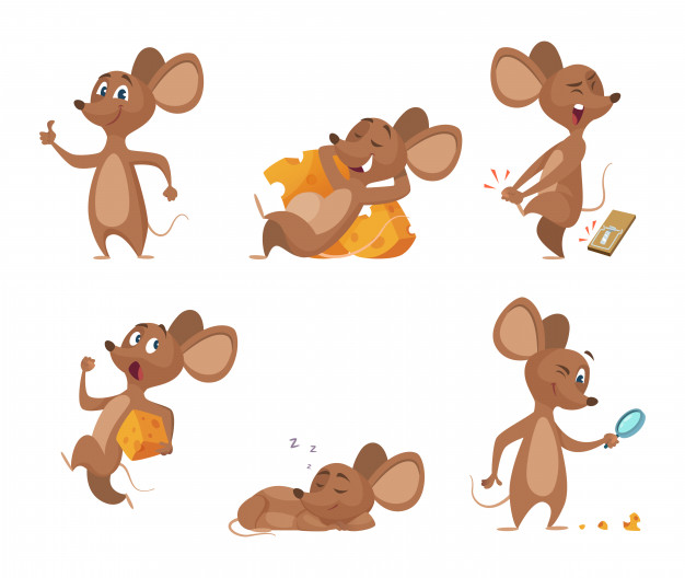 mouse cartoons multiple