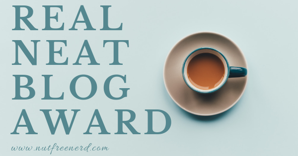 real neat blog award banner teacup