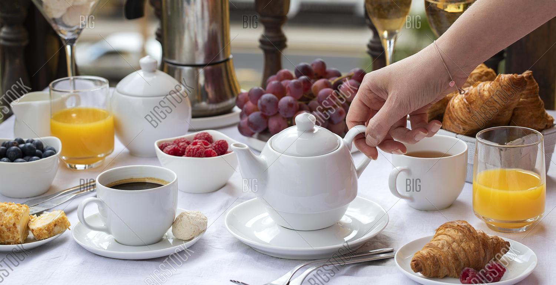 tea and accompaniments