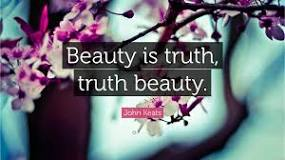 beauty is truth quote