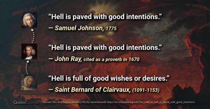 good intentions 3 quotes