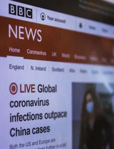 BBC coronavirus update