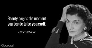 beauty quote coco chanel