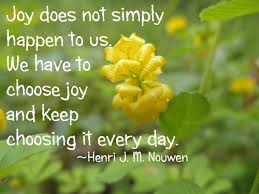 joy quote 2 yellow flowers