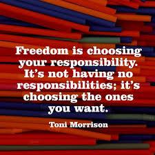 responsibility quote 1