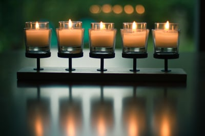 5 tea lights