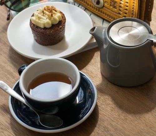tea cupcake teapot