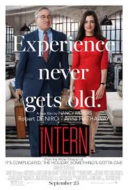 the intern movie cover