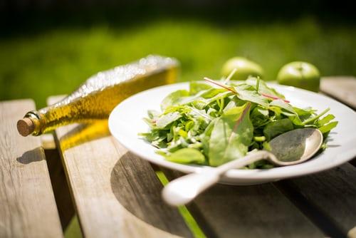 salad at picnic
