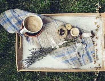 tea at picnic