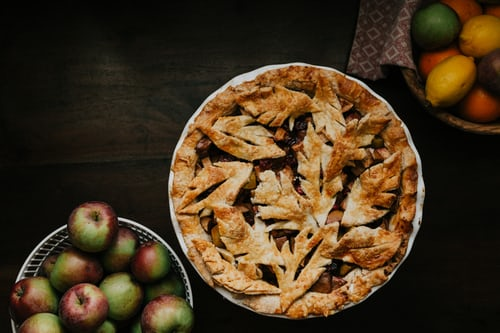 apples and pie