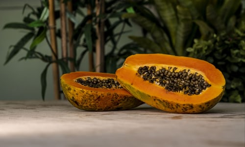 red papaya